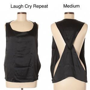 🔴3/$15🔴 Laugh Cry Repeat by AZFN Cutout